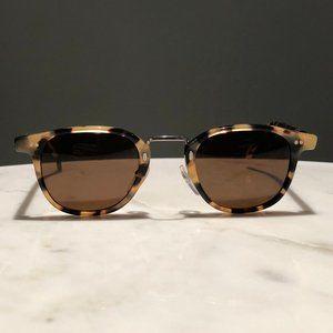Brown tortoiseshell Illesteva Sunglasses